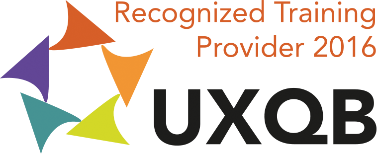 UXQB Reconized Training Provider 2016